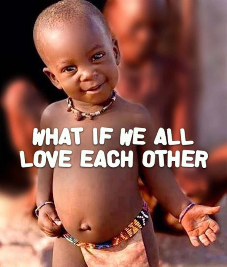 What if we all love each other?